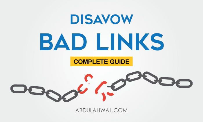 how to disavow low quality backlinks